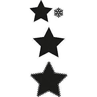 Marianne Design Craftables Stanzen Sternformen stirbt, grau