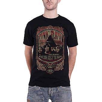 Pink Floyd T Shirt Portsmouth Guildhall 1972 Concert Poster Official Mens Black