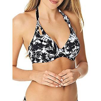 Palm Haze Halterneck Bikini Top