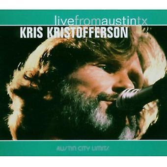 Kris Kristofferson - Live From Austin Texas [CD] USA import