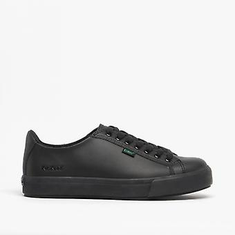 Kickers Tovni Lacer Mens Leather Trainers Black