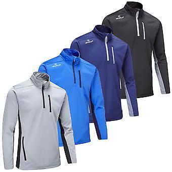 Stuburt Mens Endurance Sport Half Zip Fleece Golf Pullover Sweater
