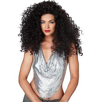 المغنية ديسكو سمراء شعر مستعار