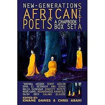Nova geração de poetas africanos: uma caixa de Chapbook Set (sita)