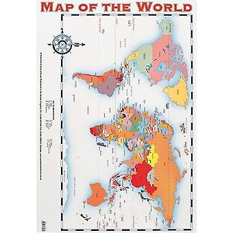 Map of the World by Wes Magee