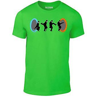 Män ' s fåniga portaler t-shirt.