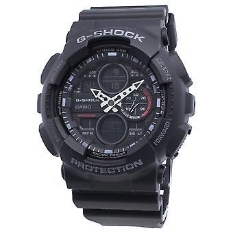 Casio G-Shock GA-140-1A1 GA140-1A1 Quartz World Time Men-apos;s Montre