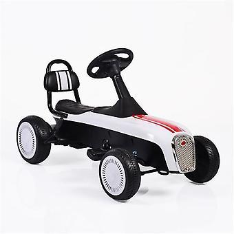 Go-kart pour enfants, voiture à pédales, Go Kart K02 Rétro, pneus PVC, frein à main, à partir de 3 ans