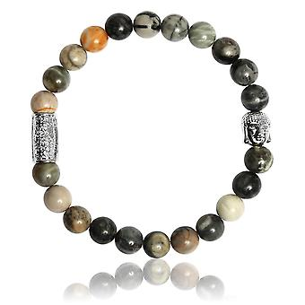 Lauren Steven Design ML052 Bracelet - Pierre Picasso Men's Natural Stone Bracelet