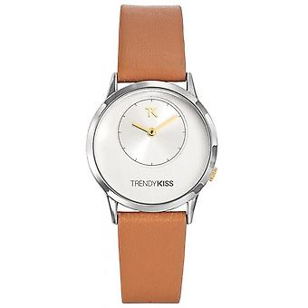 Watch Trendy Kiss TG10064-31 - Leather Brown woman