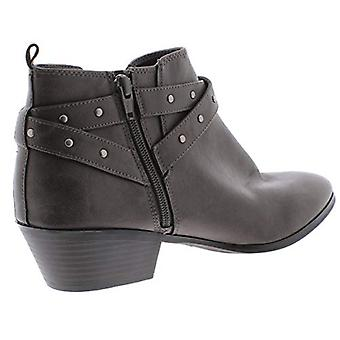 Style & Co. Womens Harperr 2 Leather Studded Ankle Boots