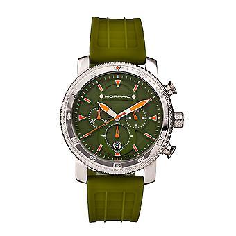 Morphic M90 Series Chronograph Watch w/Date - Green