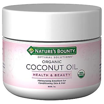 Nature's bounty optimal solutions organic coconut oil, 7 oz Nature's bounty optimal solutions organic coconut oil, 7 oz Nature's bounty optimal solutions organic coconut oil, 7 oz Nature&