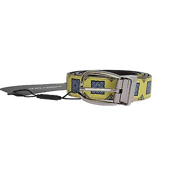 حلو & نمط حزام من الجلد الأصفر غابانا-BEL1022640