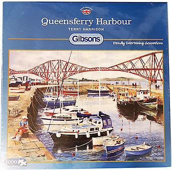 Jigsaw Queensferry Harbour 1000pc di Gibsons