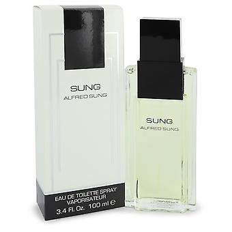 Alfred SUNG por Alfred Sung Eau De Toilette Spray 3.4 oz/100 ml (mujer)