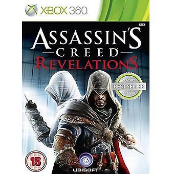 Assassins Creed Revelations [Classics] Xbox 360 Game