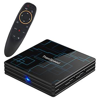 Stuff Certified® Transpeed 4K TV Box Media Player Android Kodi - 4GB RAM - 64GB Storage