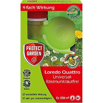 SBM Protect Garden Loredo® Quattro Universal Lawn Weed Free, 250 ml
