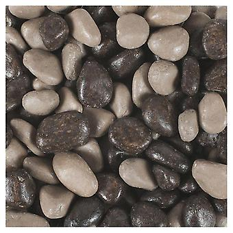 Tyrol Varnished Taupe Mixed Gravel (Vissen , Decoratie , Grind en zand)