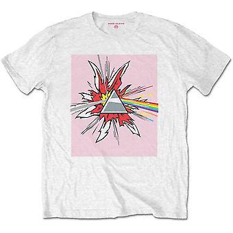 Pink Floyd Dark Side of the Moon Lichenstein Official T-Shirt Unisex