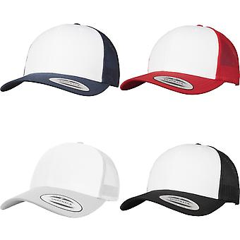 Flexfit By Yupoong Retro Trucker Coloured Front Cap