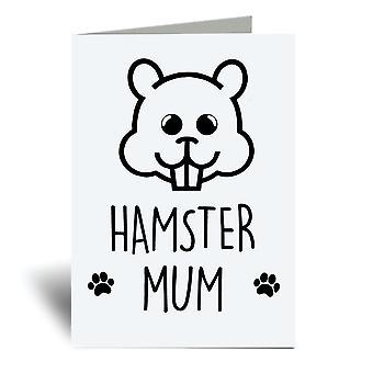 الهامستر أمي A6 بطاقة المعايدة