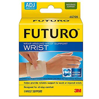 Futuro wrap around wrist support, adjust to fit, 1 ea