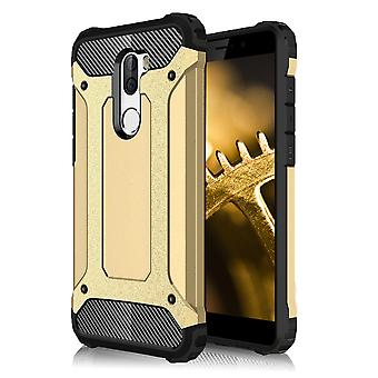 Shell para Xiaomi Mi 5s Plus Hard Armor Protection Gold TPU Case