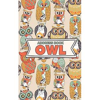 Address Book Owl by Us & Journals R