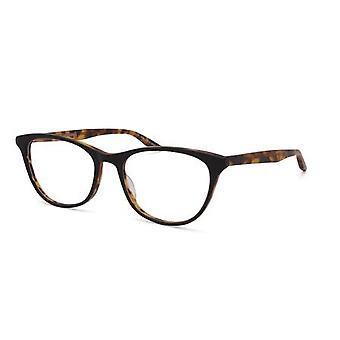Barton Perreira Willa BP5052 1HQ Matte Black/Amber Tortoise Glasses