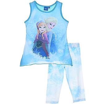 Dziewczyny, Minionki Koszulka bez rękawów / Top i 3/4 legginsy Set