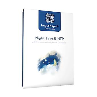Night Time 5-HTP - 60 Tablets