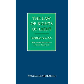 The Law of the Rights of Light by Jonathan Karas - 9780854901647 Book