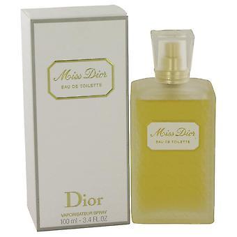 Miss Dior Originale Eau De Toilette Spray By Christian Dior 3.4 oz Eau De Toilette Spray