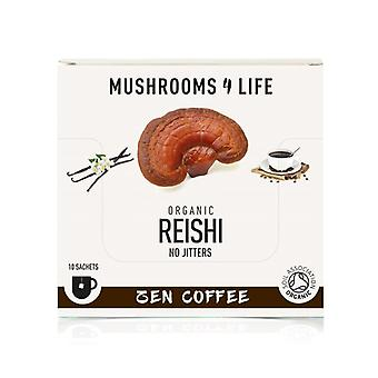 Mushrooms4Life Organic Reishi Zen Coffee Sachets 10 (ML0080)