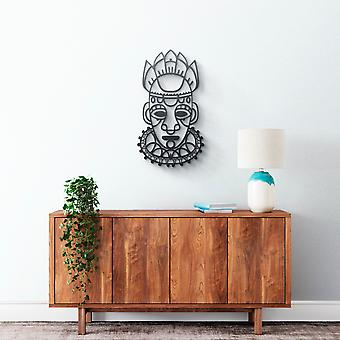 Metal Wall Art - Mexican Mask