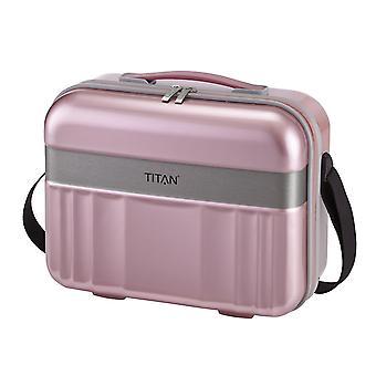 TITAN Spotlight Flash Skønhedskasse 32 cm, 21 L, Pink