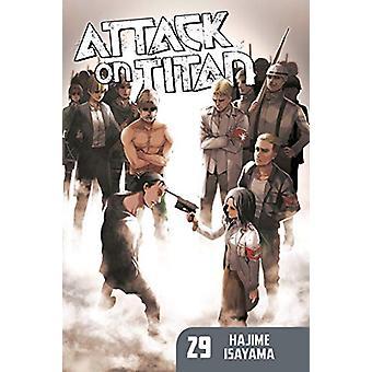 Hyökkäys Titan 29 Hajime Isayama - 9781632368287 Kirja