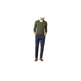 Dockers Men's Slim Tapered Fit Workday Khaki Smart 360 Flex Pants, Zwart (Str...
