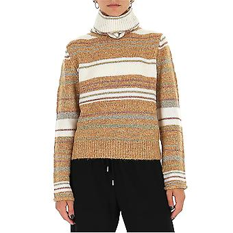 See By Chloé Chs20amp1658090z Women's Beige Wool Sweater