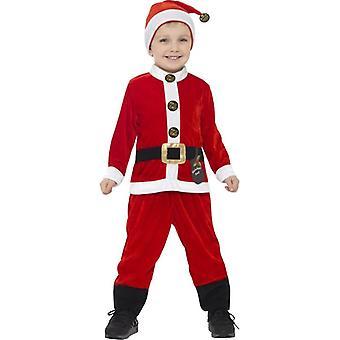 Tout-petits Enfants Enfants Santa Christmas Fancy Dress Costume