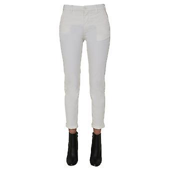 Pence 1979 Poolys83418p095092 Pantalon en coton blanc femmes