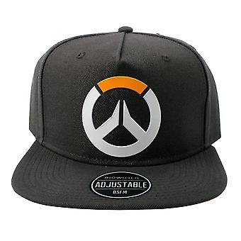 Overwatch, SnapBack Cap logo, Antrasit
