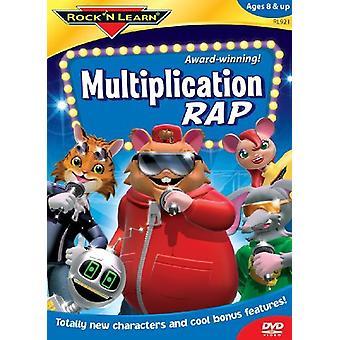 Rock'N Learn - Multiplication Rap [DVD] USA import