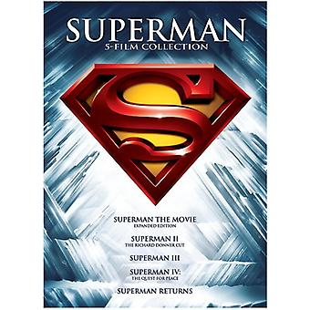 Superman - 5 Film Collection [DVD] USA import