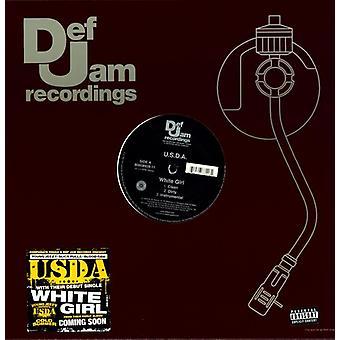 U.S.D.a. - White Girl/Check [Vinyl] USA import