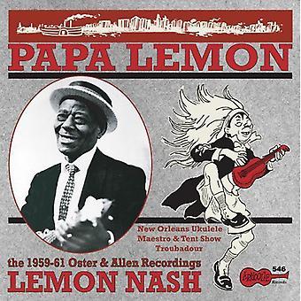 Lemon Nash - Papa Lemon: New Orleans Ukelele Maestro & Tent [Vinyl] USA import