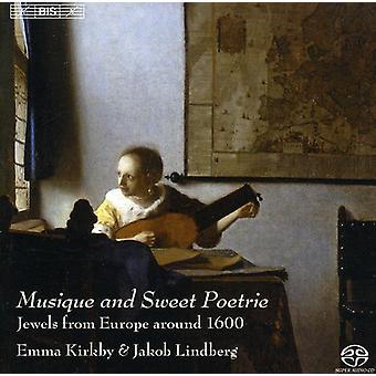 Importación de Kirkby/Lindberg - Musique y dulce Poetrie [SACD] Estados Unidos