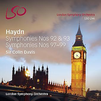 Haydn / Davis / London Sym Orch - Syms 92 93 97 98 & 99 [SACD] USA import